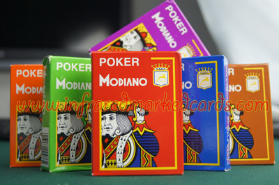 Modiano Cristallo Marqué cartes