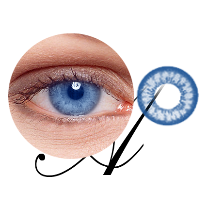 Lentilles de contact infrarouges pour Blue Eyes